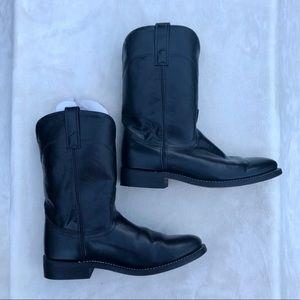 Laredo Shoes - Laredo Black Cherry Western Boots - Round Toe